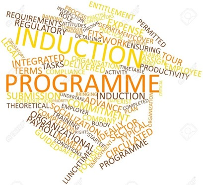 Abstract Word Cloud For Induction Programme With Related Tags.. Stock  Photo, Picture And Royalty Free Image. Image 17148823.